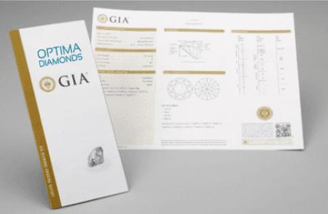 כיצד לקרוא תעודת GIA?